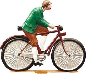 Radfahrer, groß