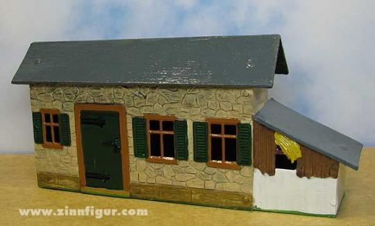 Bauernhaus, Wohnhaus, mit seitlichem Stall