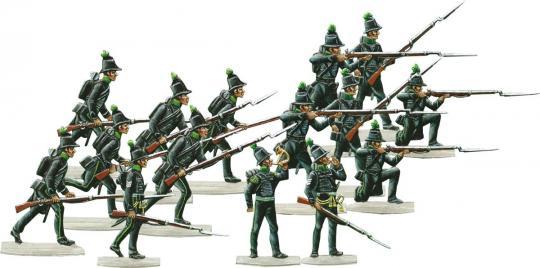 Brunswick Avantgarde-jaegers (Riflemen)