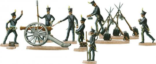 Brunswick Foot-Artillery, 1815
