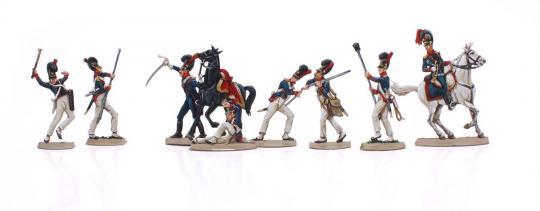 Bavarian Artillery on horse, fighting