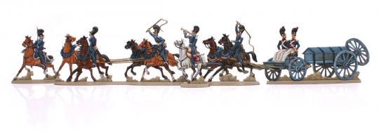 Bavarian Artillery on horse
