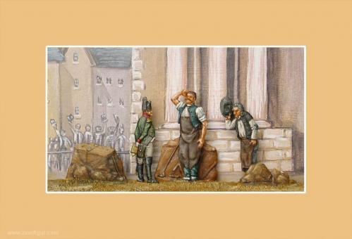 """Wandbild: """"Kürassier beim 4. Regiment gewesen, Sire"""""""