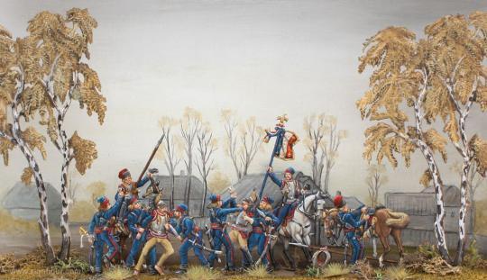 Kosaken mit Beute nach der Schlacht von Tarutino