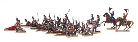 Britische Infanterie - kniend, Reserve