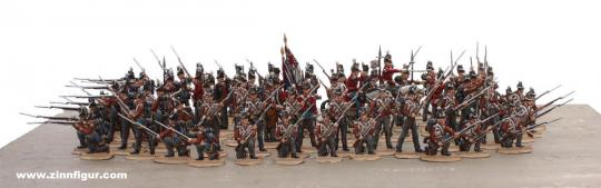 British Infantry in Square Formation