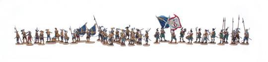 Infanterie im Halt - 30-jähriger-Krieg
