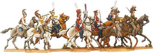 Russischer Kavalleriestab