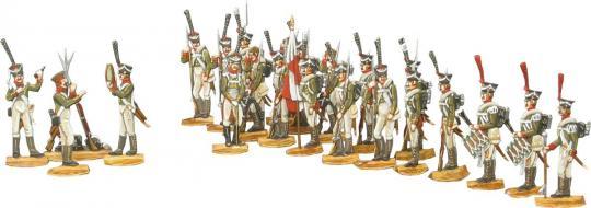 Infanterie im Halt