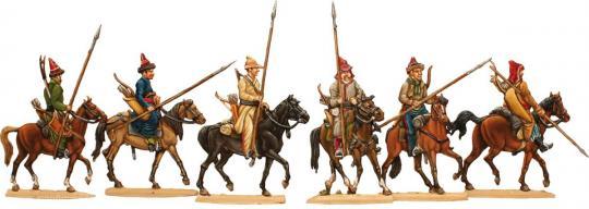 Baschkiren und Kirgisen