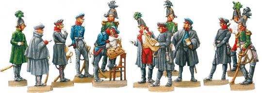 Preußisch-russisch-österreichischer Stab, 1813-15