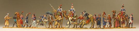 Napoleon Bonaparte at the pyramides