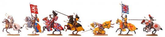 Tod des Königs von Böhmen - Crecy 1346