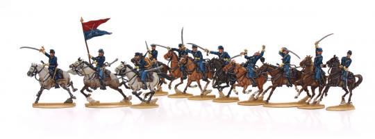 US-Kavallerie im Angriff
