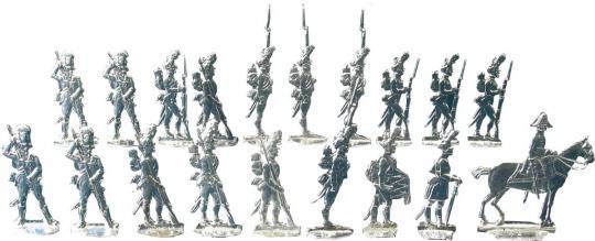 Grenadiere im Halt