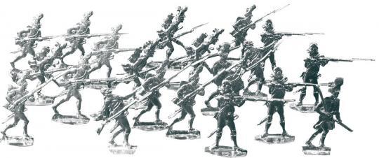 Grenadiere im Gefecht