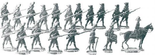 Grenadiere im Karree