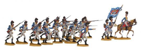 Infanterie vorgehend