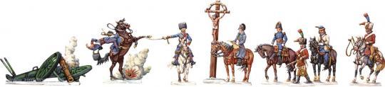 Die Schlacht von Eylau 1807 Teil 1: Napoleon und kleiner Stab