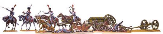 Die Schlacht von Eylau Teil 4: Train-Truppen bringen Munition
