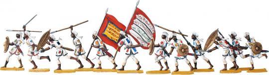 Mahdisten im Kampf im Sudan