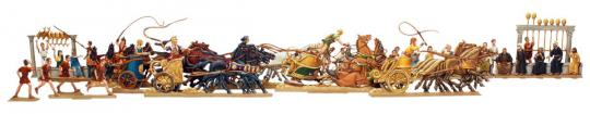 Ben-Hur, das Wagenrennen