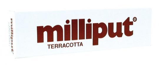 Milliput-Spachtel Terracotta