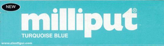 Milliput-Spachtel Türkis-Blau