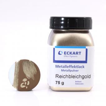 Metalleffekt Bronzepulver Reichbleichgold