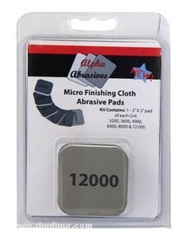 Micro Finishing Cloth Abrasive Pads Set