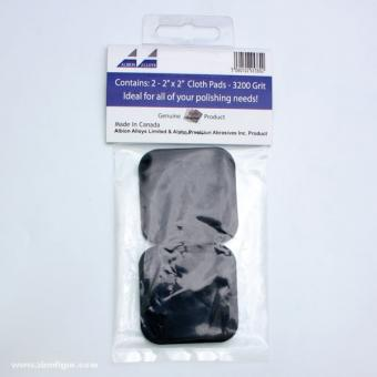Micro Finishing Cloth Abrasive Pads Refill - 3200 Grit