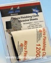 Micro Finishing Cloth Abrasive Sheets Set