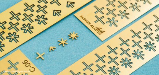 Connecto Kreuze 0,8 mm (Verbindungsstücke)