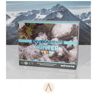 Geländegestaltungs-Set: Winter