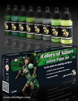 """""""Colors of Nature"""" Green Paint Set"""