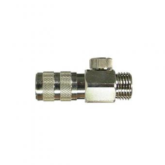 Schnellkupplung NW 2,7 mm, regulierbar