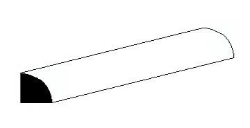 Viertel-Rundstange 1,0 mm