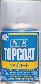Mr. Hobby Topcoat  -  Glänzend