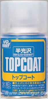 Mr. Hobby Topcoat  -  Seidenmatt