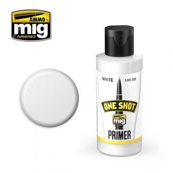 One Shot Primer - Grundierung Weiß