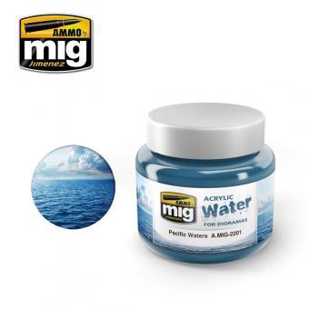 """Acryl-Wasser-Gel """"Pazifik"""""""