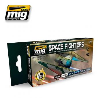 Space Fighters Sci-Fi Farbset