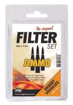 Filter Set für Wüstenfahrzeuge