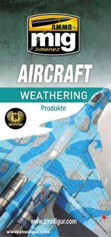 Download Übersicht der AMMO-Farben für Flugzeug Alterung/Verwitterung