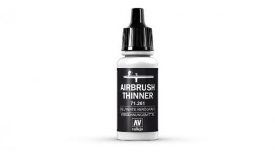 Airbrush Verdünner, 17 ml -klein-