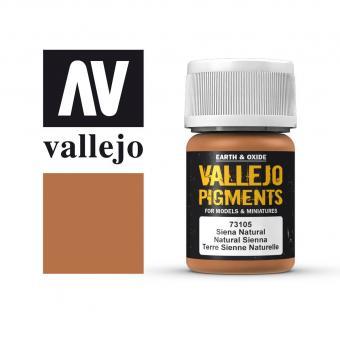 Vallejo Pigment Sienna Natur 30 ml