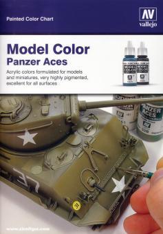 Colourchart - Farbkarte für Model Color-Farben