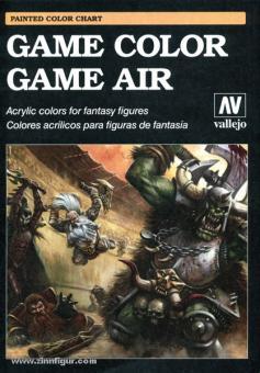 Vallejo Game Color & Game Air Farbkarte