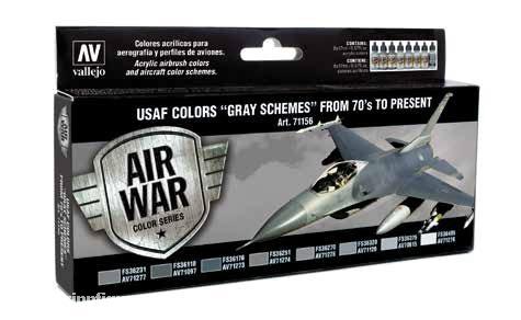 """USAF Farben """"Graue Schemen"""" 1970er bis Gegenwart"""