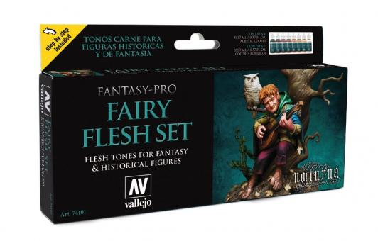 """Fairy Flesh"" Fantasy-Pro Paint Set"